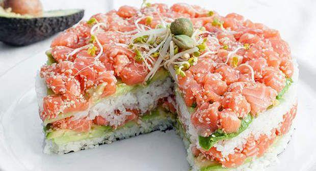 Sushi cakeVoir l'épingle