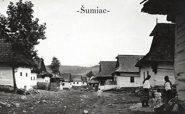 Slovakia, Šumiac, Nižný koniec, r.1934