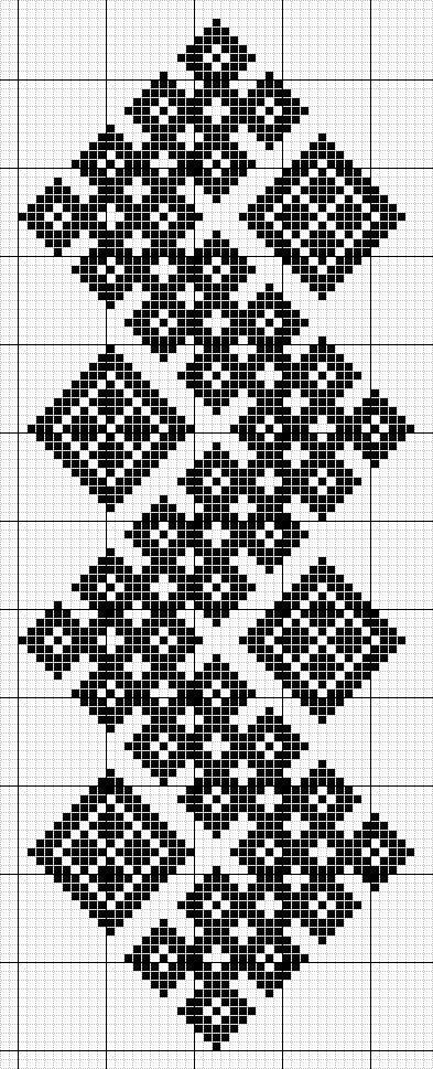 X-stitch pattern