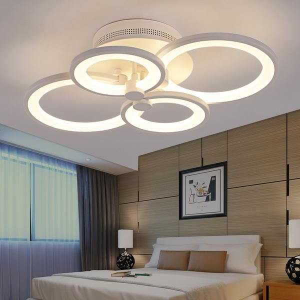 Have An Inquiring Mind Led Ceiling Light Modern Lamp Panel Living Room Round Lighting Fixture Bedroom Kitchen Hall Surface Mount Flush Remote Control Back To Search Resultslights & Lighting Ceiling Lights