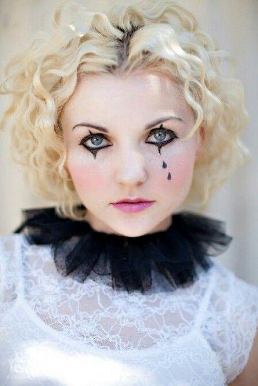 Tearful Clown | Diy Halloween Costume Ideas