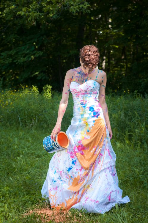 156 best trash the dress photography ideas images on for Paint photo shoot ideas