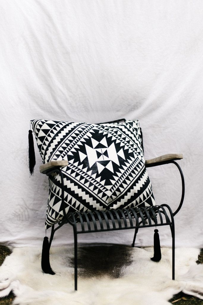 PRE-ORDER 'Geometry' Cleo Cushion – Bohome Homewares Australia