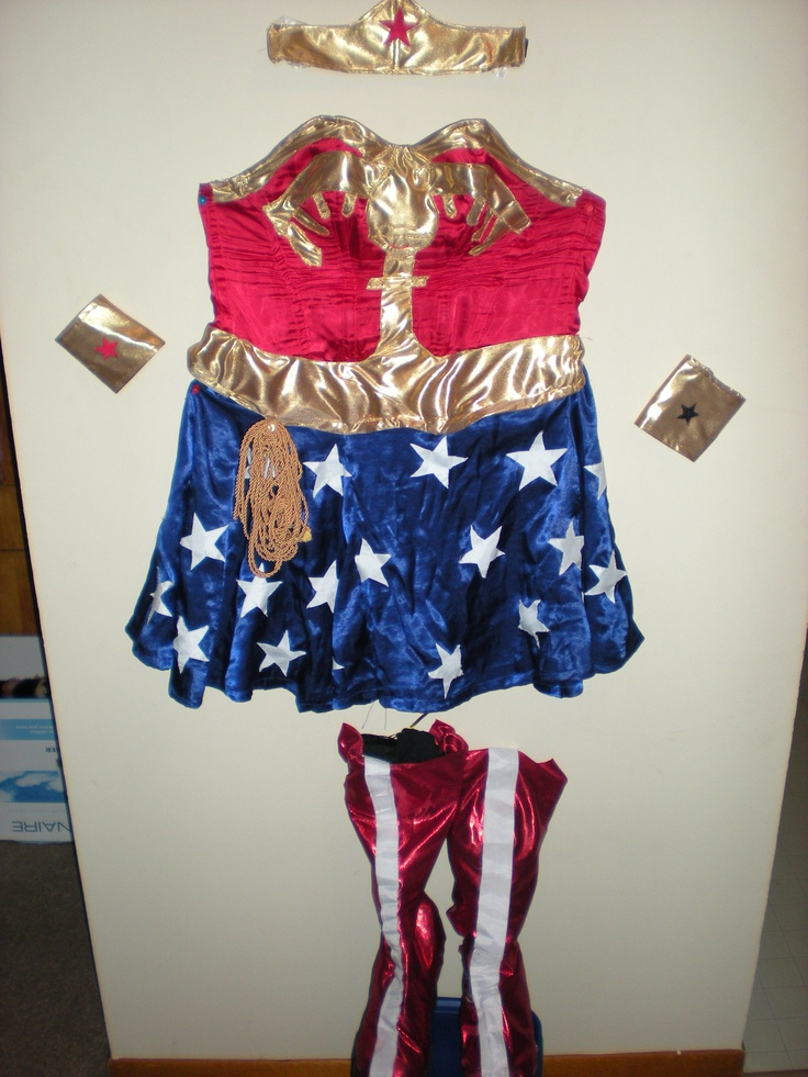 Deluxe wonder woman childrens costume-4338