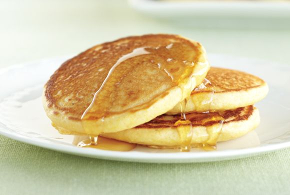 Cornmeal Buttermilk Pancakes recipe - Canadian Living