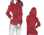 OTAKool: get your nerdy look! MISATO inspired hoodie