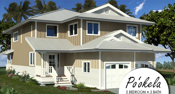 28 best dream home images on pinterest house floor plans for Hawaii package homes