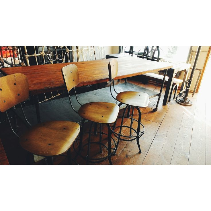 Chairs/Stools ~ #industrialdecor #chairs #barstools #homedecor *JoJo's Place www.jojosplace.com
