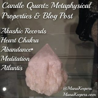 Mana Keepers: Candle Quartz Quick Reference: Candle Quartz Crystal, aka the Pineapple Quartz, Celestial Quartz or Atlantean Lovestar is recognized by a myriad of smaller terminations surrounding a larger central point. The smaller ones can be either very sharp, as found in tranlucent candle quartz, or almost rounded as is usually found in opaque crystals. The sides of an opaque Candle Quartz often look and feel like a pineapple. For more info check out post. www.manakeepers.com