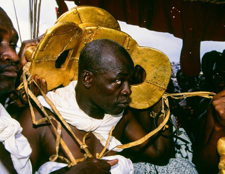 Africa Ashanti Golden Stool Ghana 1995 169 Carol