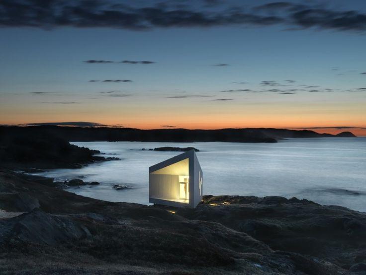 Architect Todd Saunders' Squish Studio on Fogo Island, Newfoundland, Canada.