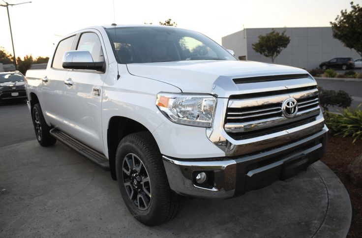 Ready Unit For Sale Top of the Line 2017 Toyota Tundra 1794 Edition 5.7L V8 A/T 4WD Full Option Imported Tax Paid Brand New Available Colors: White and Gray at 20% Down Payment Trade In OK Call 09175287233 for more info or click Photo for Price #toyota #toyotatundra     #tundra  #trdpro  #hilux  #trd  #4x4 #autotradephils #bestbuycarsph  Please LIKE and SHARE this For Sale Imported Pick Up .. Thank You