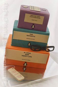 Penguin Books wedding cake by Infinite Sweets: April 2013