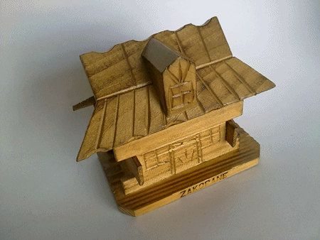 Vintage Handmade Soviet Era Wooden Money Box, Polish Folk Money Box - made in Poland 70s on Etsy, $16.42