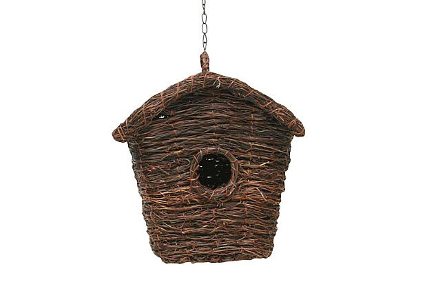 Perfect to replace our current dilapidated birdhouse: Twig Birdhouses, Natural Twig, Twig Squares, Backyard Fun, Cabanes D Oiseaux, Squares Birdhouses, Birds House, Current Dilapid, Dilapid Birdhouses