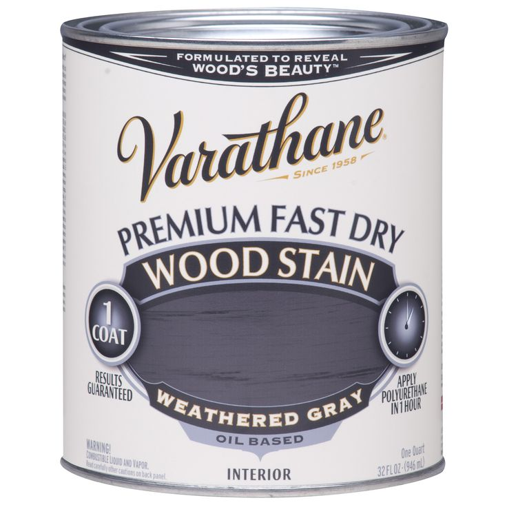 Trend Varathane Pint Weathered Fast Dry Wood Stain