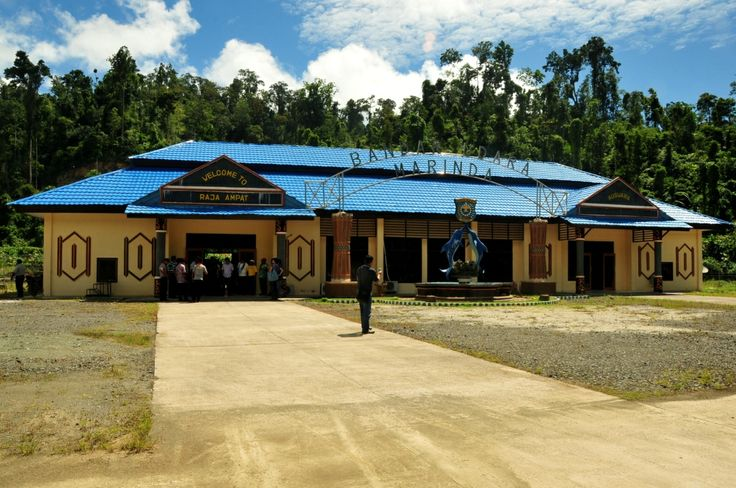 welcome to the center of Raja Ampat-Waisai
