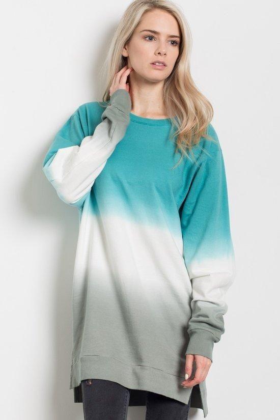 Two Tone Dip Dye Shirt