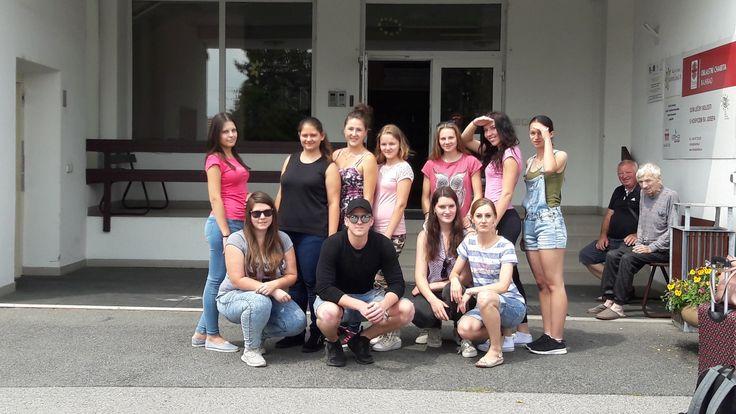 Išli sme za hranice k susedom – Stredná zdravotnícka škola Lučenec