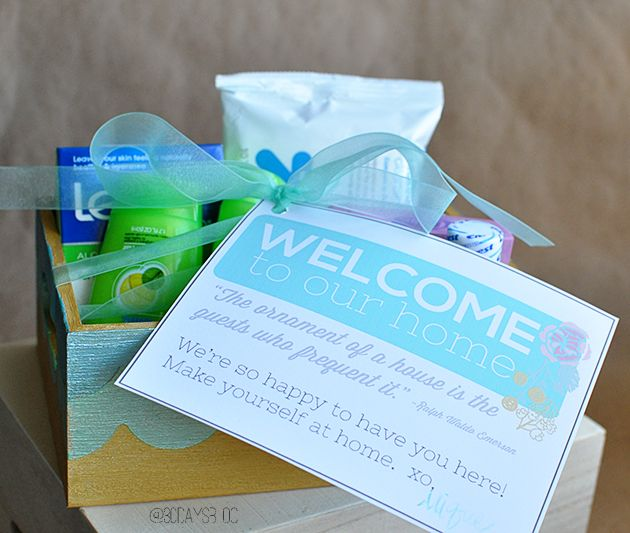 The 25 Best Guest Welcome Baskets Ideas On Pinterest Welcome