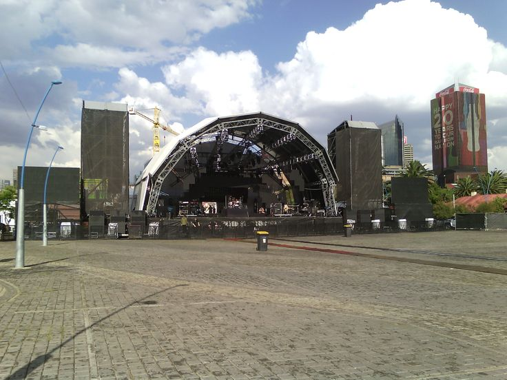 Vodacom In The City - Johannesburg. MGMT, Rudimental, Crystal Fighters & PH Fat 2014