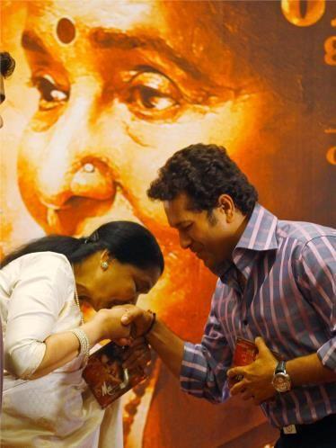 #SachinTendulkar #AshaBhosle