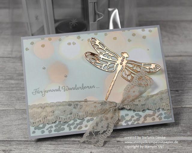 Stempelkrempel mit Papier : Ein Geschenk zur Beförderung - Neues Stempelset Li(e)belleien