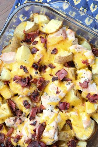 Ranch Chicken & Potatoes Casserole | 5DollarDinners.com