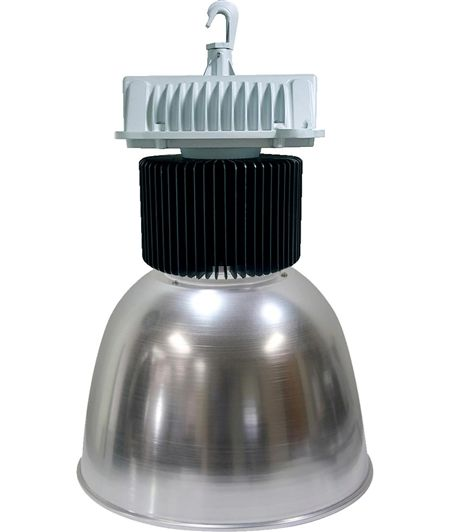 Shat-R-Shield 200HB50 LED High Bay Light, 200W, 120-277V, Aluminum Reflector - The newest addition to the Major Electronix online store is the line of industrial light fixtures from Shat-R-Shield. They are available in high bay, low bay, wall packs, and vapor tight luminaires #ShatRShield #IndustrialLightFixtures