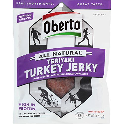 Oberto All Natural Teriyaki Turkey Jerky 325 Ounce Bag Pack of 4 * Find out more about the great product at the image link.