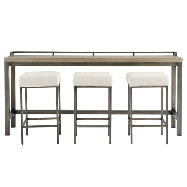 You Ll Love The Susan Console Table And Stool Set At Wayfair Great Deals On All Furniture Pr Counter Height Table Sets Wood Console Table Universal Furniture