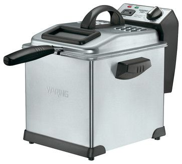 Waring Pro 1800-Watt Digital Deep Fryer - contemporary - small kitchen appliances - HPP Enterprises