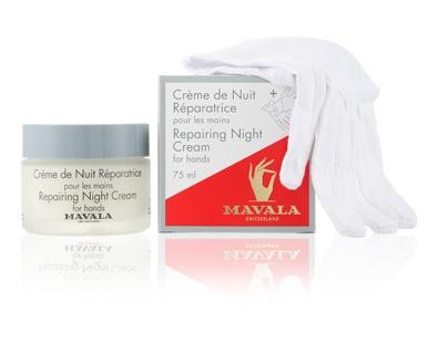 Mavala Repairing Night Cream for Hands