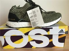 Adidas Ultra Boost Uncaged Army Green Mens