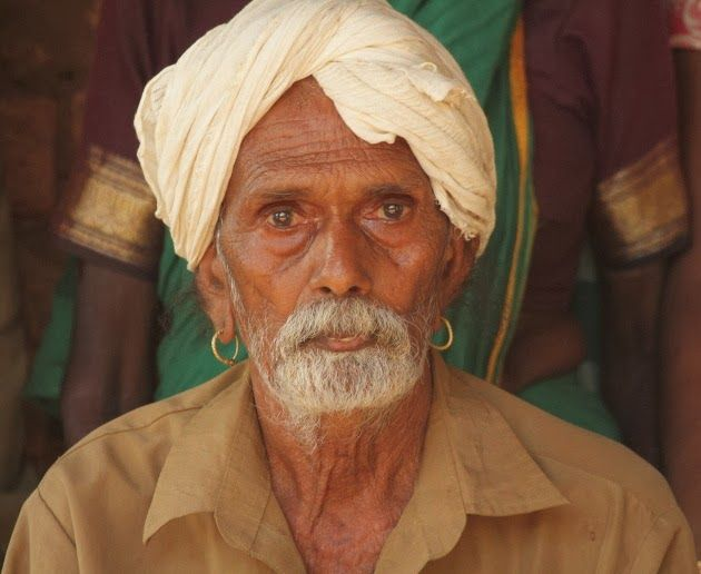 Elderly Gentleman from Dandeli's Gowli Tribe