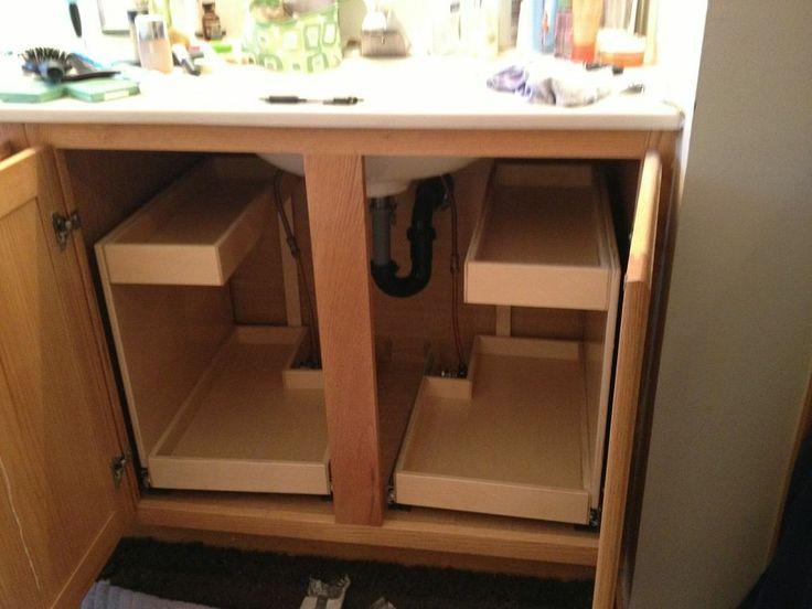 Kitchen Sink Cabinet Storage 8 best storage images on pinterest | kitchen, under bathroom sinks