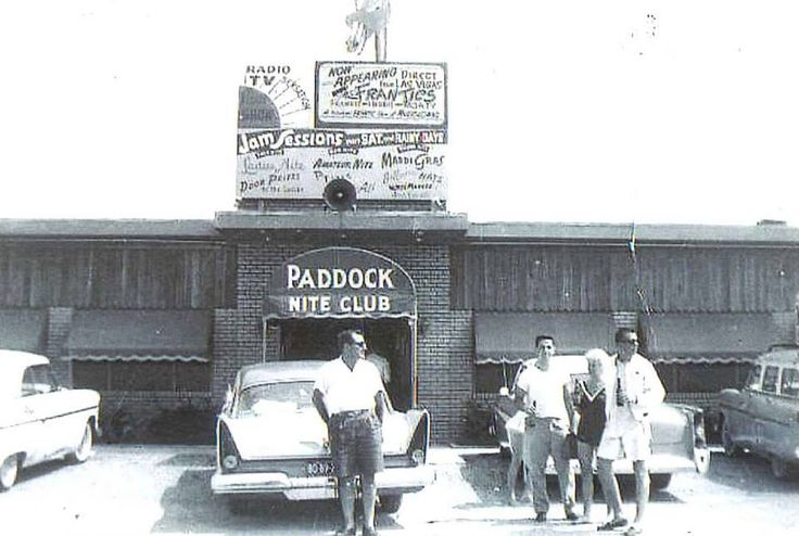 "The Paddock was one of Ocean City's most popular nightclubs for 60 years. Built by Gabby Mancini, Sr. on the corner of 18th Street and Philadelphia Avenue in 1953, it featured live entertainment. The Saturday afternoon jam sessions were legendary and drew crowds to what in that era was considered ""way up the beach."" The original building was partially destroyed by Hurricane Hazel in 1954 and suffered serious flood damage in the March Storm of 1962. Both times the nightclub was rebuilt…"