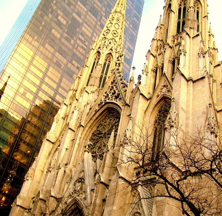 St. Patrick's Church in NYC    by Mai A. Hazlett Photography