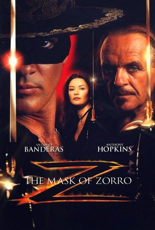 the portrayal of zorro in the 1998 movie the mask of zorro Watch the mask of zorro online - free streaming 1998 full movie hd on putlocker after being imprisoned for 20 years, zorro, don diego de la vega, receives word that his old enemy, don rafael.