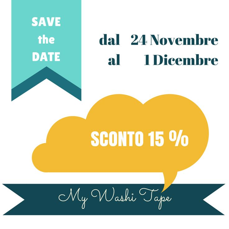 Stregatta Ci Cova  Save The DATE: It's Xmas Time  Giveaway My Washi Tape