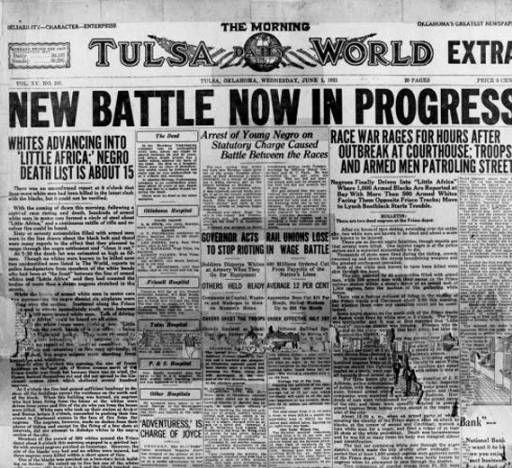 Burning Tulsa: The Legacy of Black Dispossession