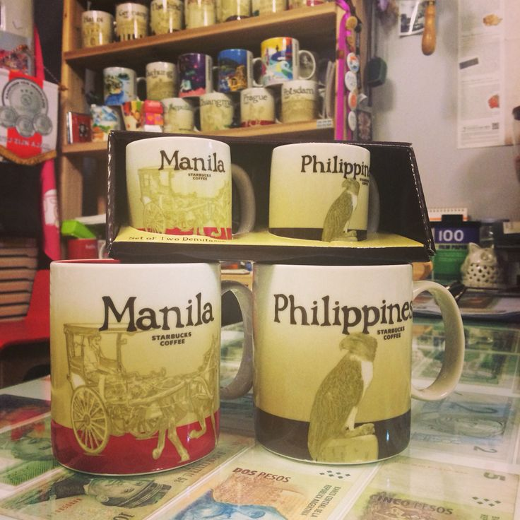 Starbucks Mug from Manila Philippine.  #kelly