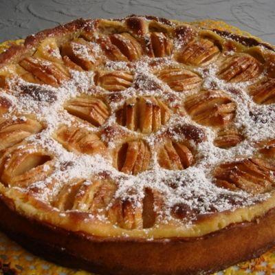 Eine der vielen Varianten dieses beliebten Kuchens aus dem Elsass. Wir haben ihn bei unserm Winzer kennengelernt.