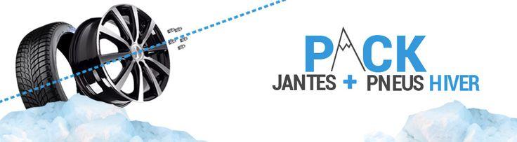 JANTES + PNEUS HIVER : SIMPLIFIEZ VOUS LA VIE !