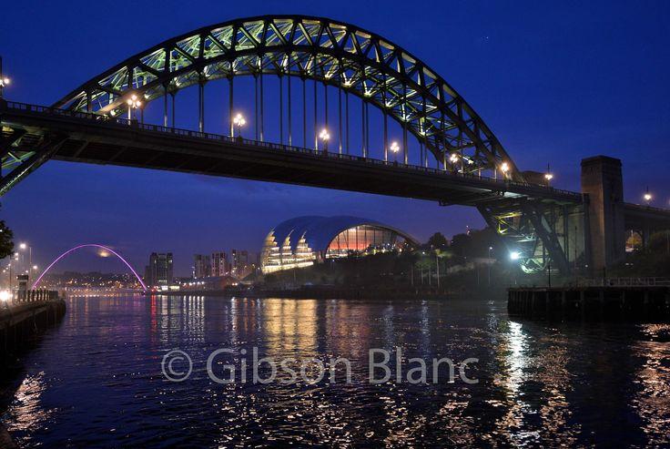 Newcastle, tyne bridge... Gibson