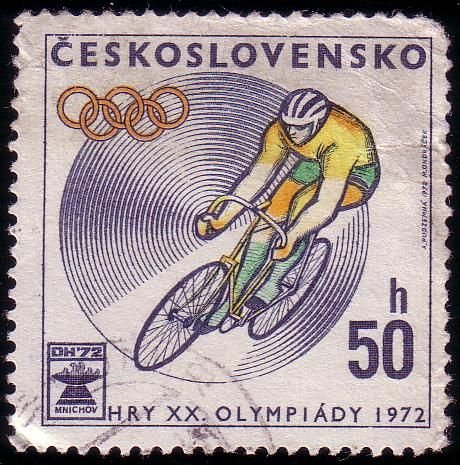 Stamp from Czechoslovakia | Munich 1972, Olympic Games