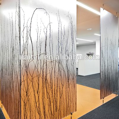 Naiteli Translucent Eco Resin Luxury Partition Wall