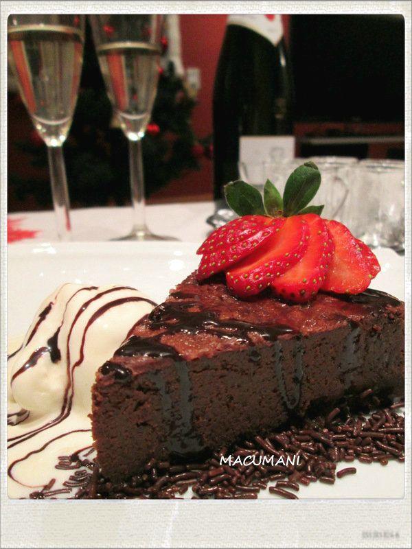 PASTEL DE CHOCOLATE (Recetas de Macu)
