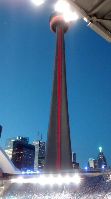 All lit up