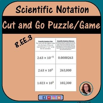The  Best Scientific Notation Ideas On   Math